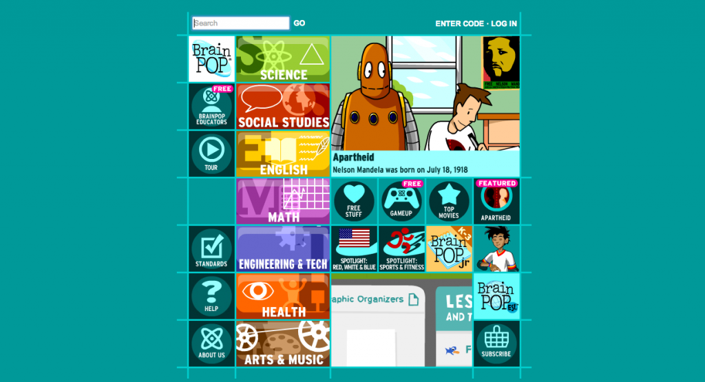 Educational Video Resource: Brain Pop