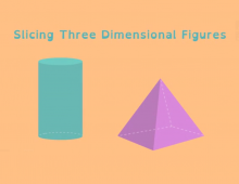Math Shorts Episode 8 – Slicing Three Dimensional Figures