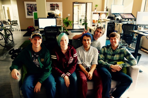 Thanks for visiting! The Planet Nutshell team (from left): John, Caroline, Brien, and Trevor. I'm the guy in the back.