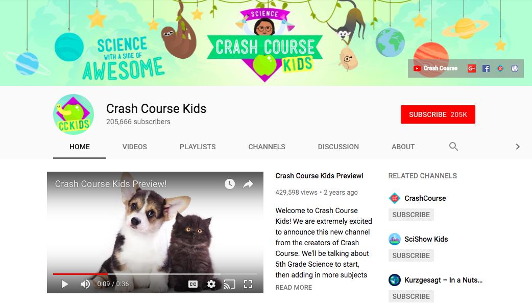 Crash Course For Kids